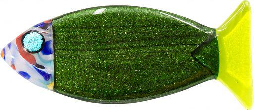 Glasfisch 15 cm - grün