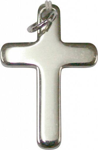 Kreuz abgerundet, Kinderkreuz - Edelstahl