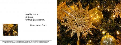Weihnachtskarte: Hoffnung