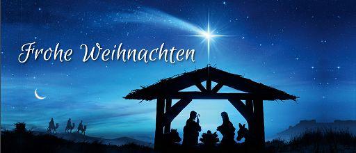 """Falzkarte Weihnachtssegen """"Da sie den Stern sahen ..."""""""