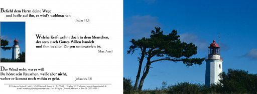Birnbacher Karten: Leuchtturm, Wind