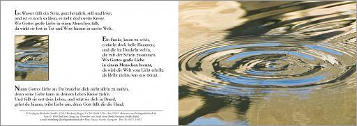 Birnbacher Karten: Ins Wasser fällt ein Stein