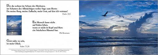 Bibelspruchkarte: Psalm 20,5