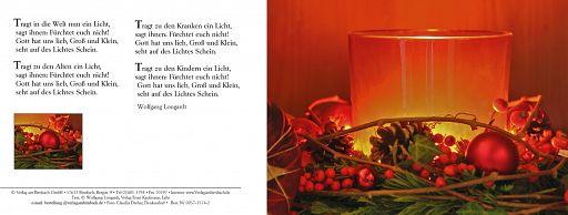 Trag in die Welt ein Licht - Weihnachtskarte