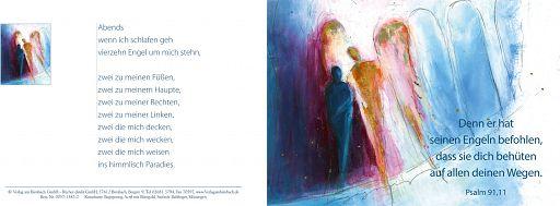 Bibelspruchkarte: Begegnung