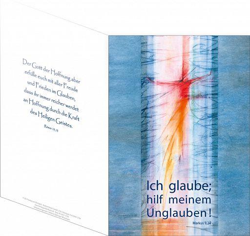 Umschlagkarte, Faltmappe - Jahreslosung 2020