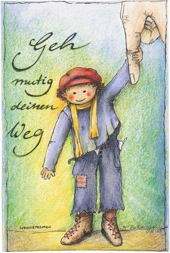 Postkarte - Wonneproppen Bube