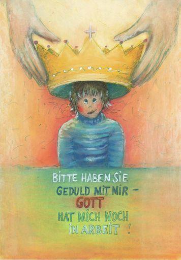 "Postkarte ""Königskind"" DIN A6"