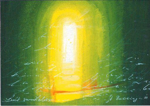 "Postkarte ""Licht zum Leben"" DIN A6"