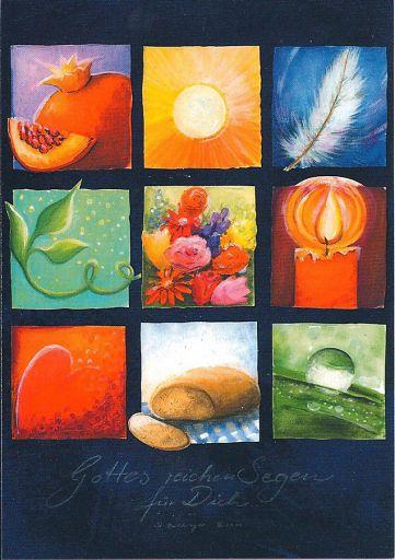 """Edition Bahlinger """"Gottes reichen Segen"""" Postkarte DIN A6"""