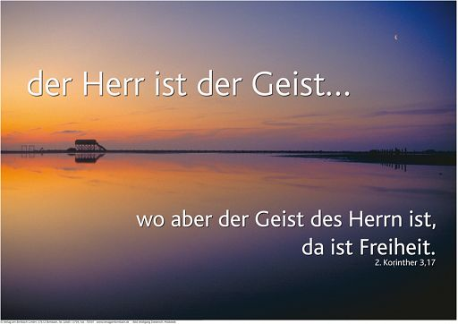 "Schaukastenposter 7 ""Sonnenuntergang"""
