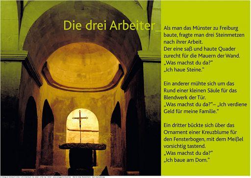 """Schaukastenposter 8 """"Kirche"""""""
