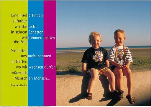 "Schaukastenposter 9 ""Kinder der Erde"""