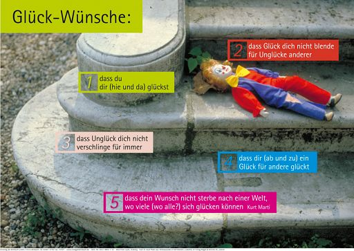 "Schaukastenposter 10 ""Glückwünsche"""