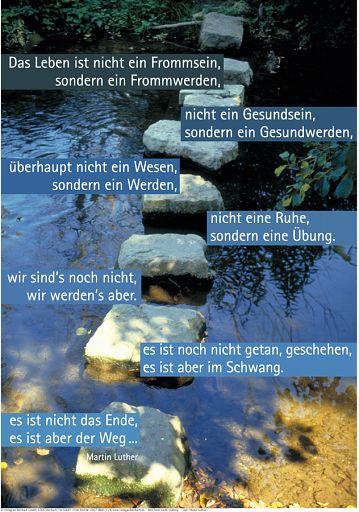 """Schaukastenposter 24 """"Über Wasser gehen"""""""