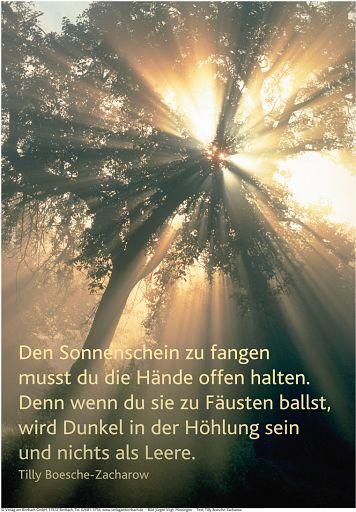 """Schaukastenposter 28 """"Sonnenschein"""""""