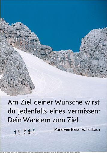 "Schaukastenposter 30 ""Wandern"""