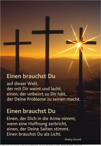 """Schaukastenposter 39 """"Kreuze"""""""