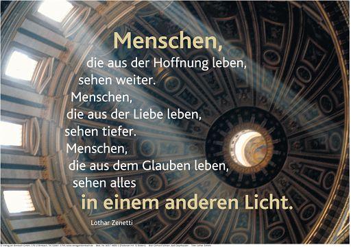 """Schaukastenposter 47 """"Lichtblick"""""""
