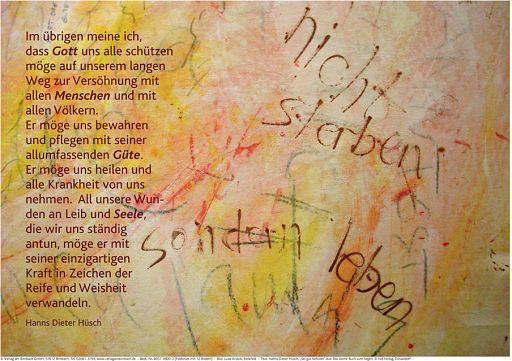 "Schaukastenposter 50 ""Leben"""