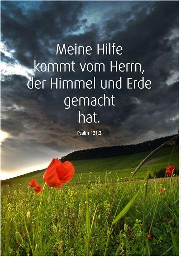 "Schaukastenposter 53 ""Psalm 121"""