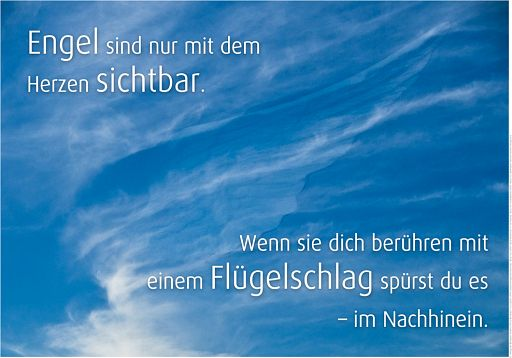"""Schaukastenposter 55 """"Engel"""""""