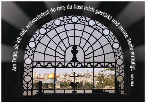 "Schaukastenposter 57 ""Psalm 138"""