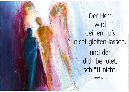 "Schaukastenposter 58 ""Psalm 121"""