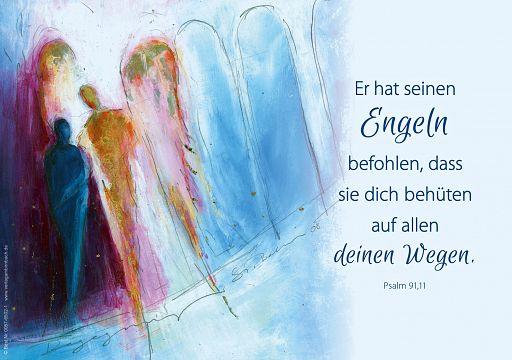 """Fensterbilder Engel """"sei behütet"""""""