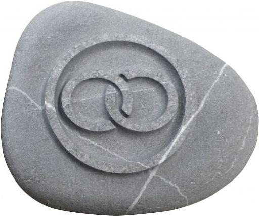 Stein Handschmeichler Ringe