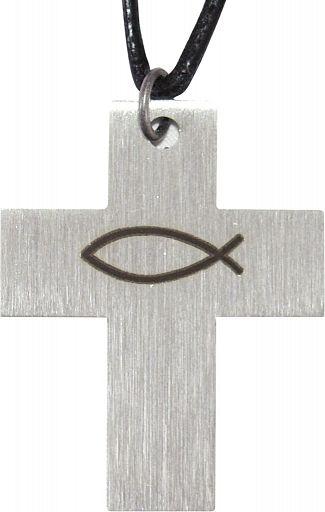 Kreuz mit Ichthys Fisch, Konfirmationskreuz