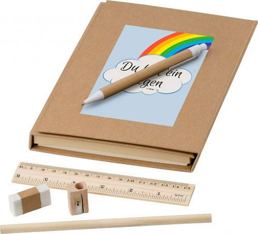 Schreibmappe Du bist ein Segen - Regenbogen