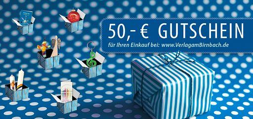 Geschenk-Gutschein 50,-Euro