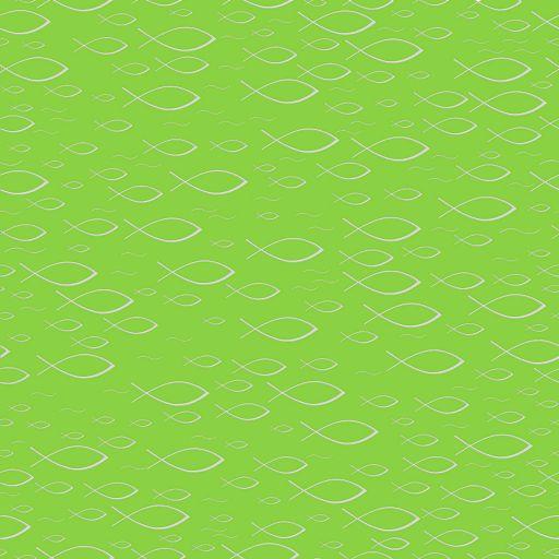 16erSet Serviette Fischprägung, kiwi