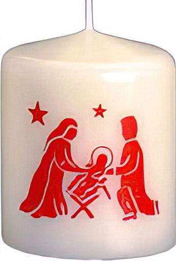 Kerze Heilige Familie