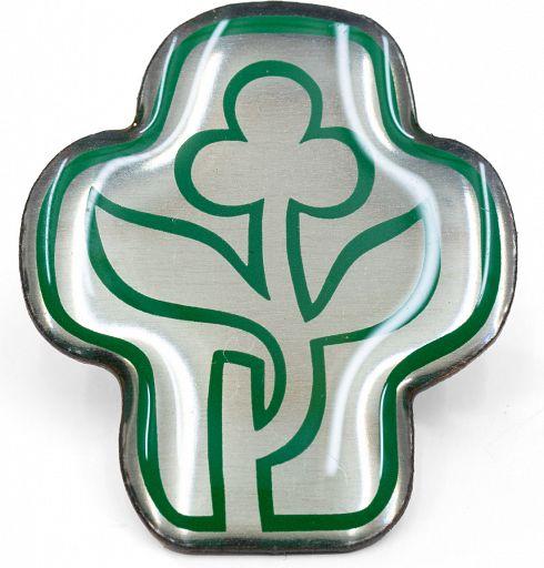 Pin Kreuz/Blume