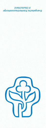 Klappkarte A7 blau