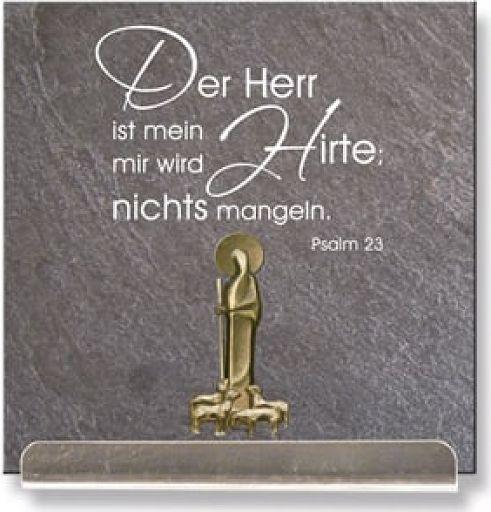 """Schiefertafel """"Psalm 23"""""""