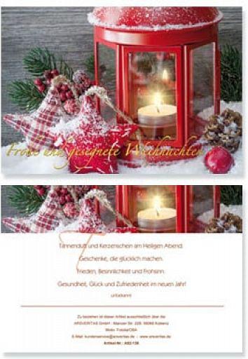 """Geburtstag """"Frohe und gesegnete Weihnachten"""""""