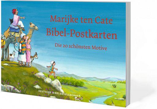 Bibel-Postkarten - Mit Bildern von Marijke ten Cate