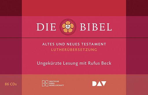 Die Bibel, ungekürzt. Gelesen von Rufus Beck (Audio-CD)