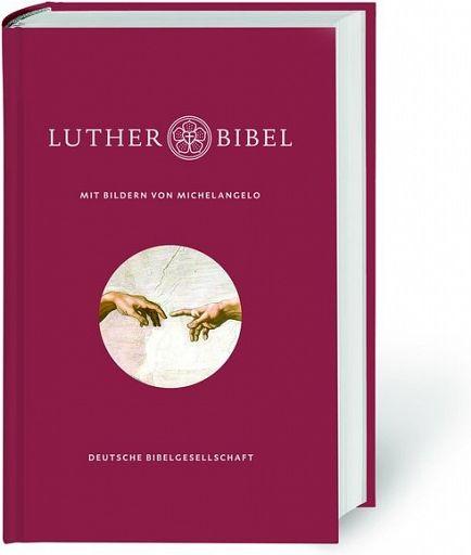 Lutherbibel revidiert 2017 - Michelangelo Geschenkbibel