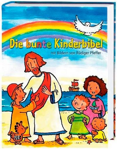Die bunte Kinderbibel gebunden