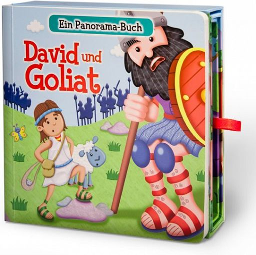 David und Goliat, Panorama-Buch