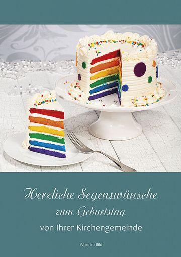 Herzliche Segenswünsche zum Geburtstag, von Ihrer Kirchengengemeinde
