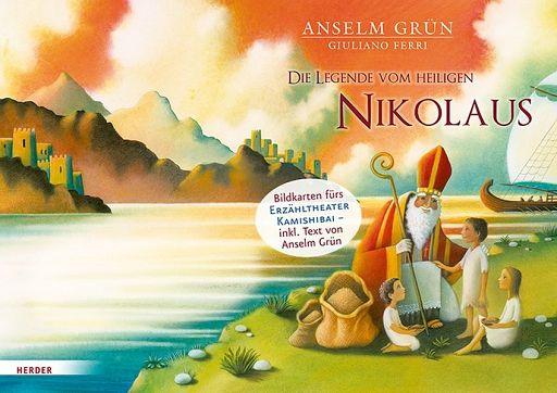 Kamishibai Bildkarten - Die Legende von heiligen Nikolaus