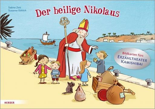 Kamishibai Bildkarten - Der heilige Nikolaus