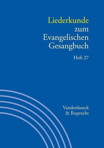 Liederkunde - Heft 27