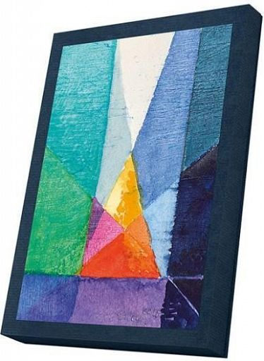 Kunst-Faltkarte im Karton, Heilige Nacht