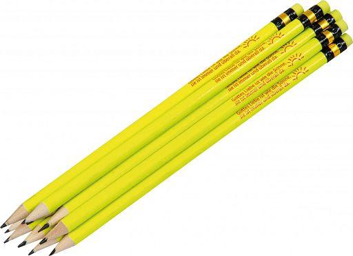 """10erSet Bleistift """"Gottes Liebe ist wie die Sonne"""""""
